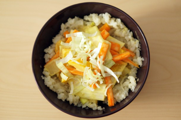 Paleo Curry mit Blumenkohl-Reis