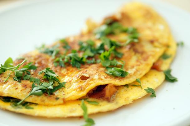 paleo-omelette-mit-eierschwammerl