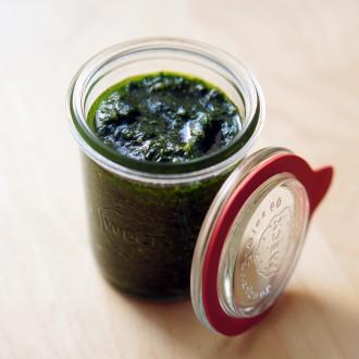 Bärlauch-Pesto mit Walnüssen