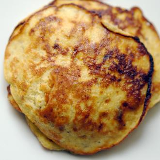 Schnelle Bananen-Pancakes