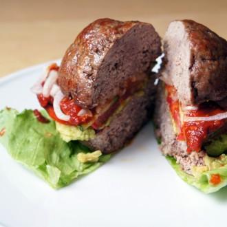 """Der """"Inside-Out"""" Burger für Fleischliebhaber"""